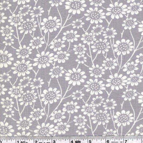 La Vie en Rose - Daisy Meadow - Grey