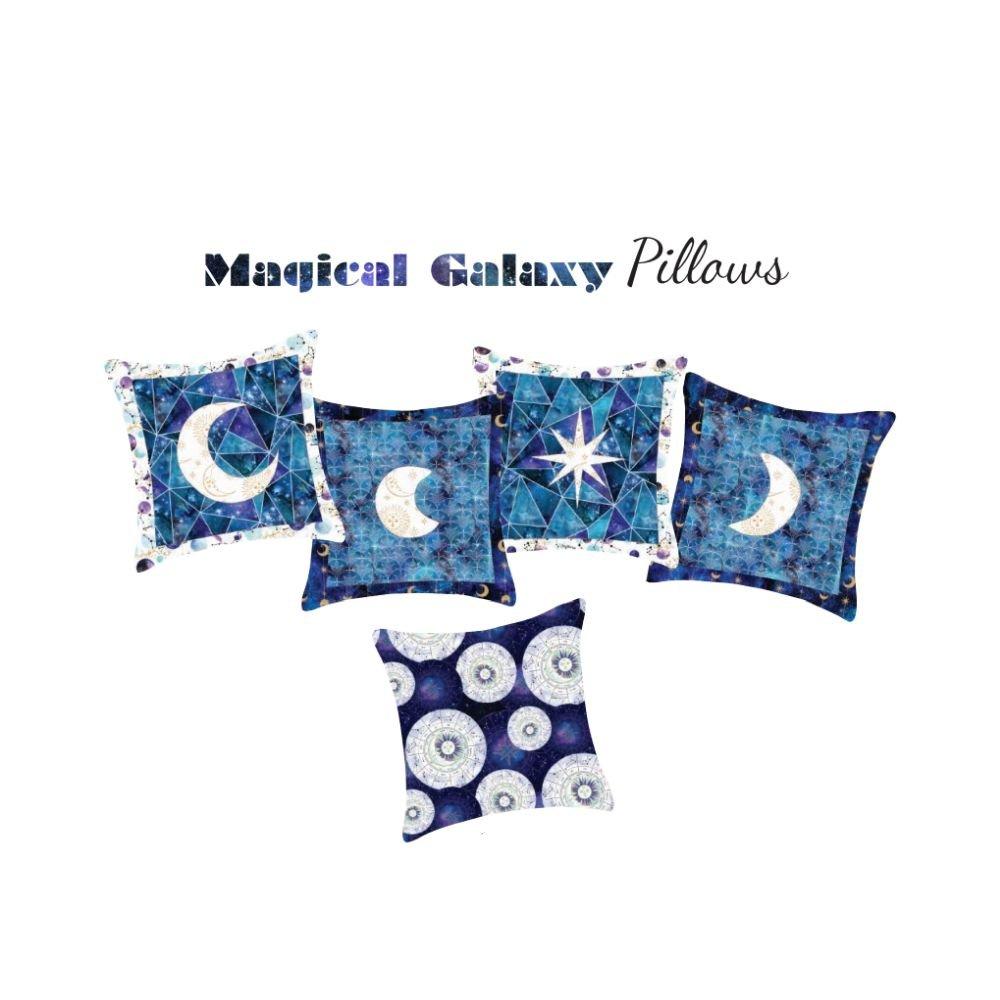 Magical Galaxy Pillows - PDF Pattern