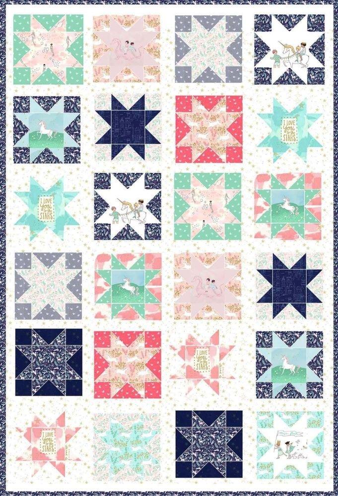 Magic Stars - PDF Pattern