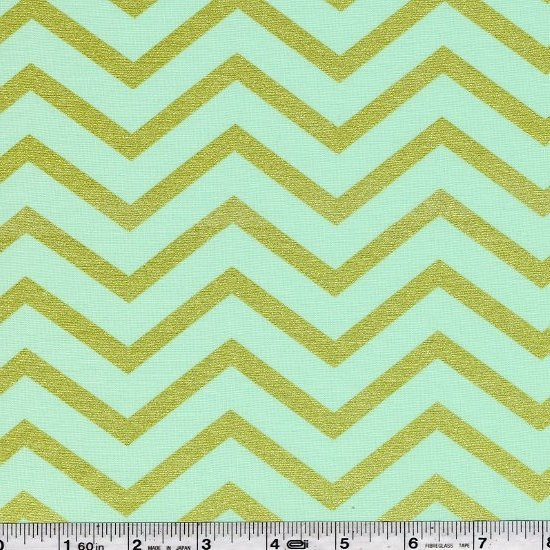 Sleek Chevron Pearlized - Mist