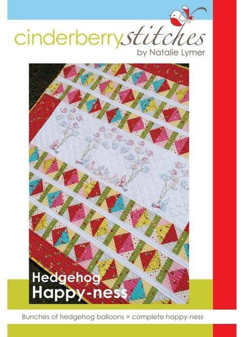 Cinderberry Stitches - Hedgehog Happy-ness