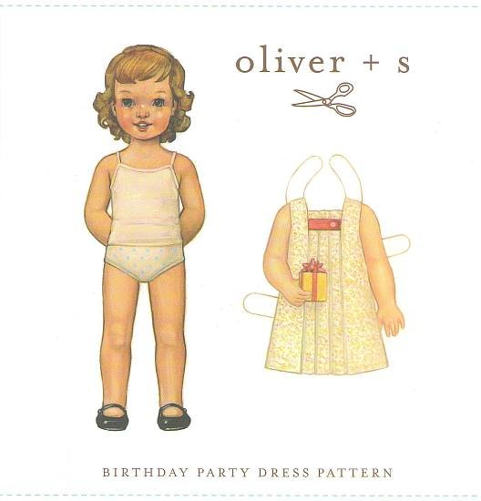 Oliver + S - Birthday Party Dress Pattern 4-8