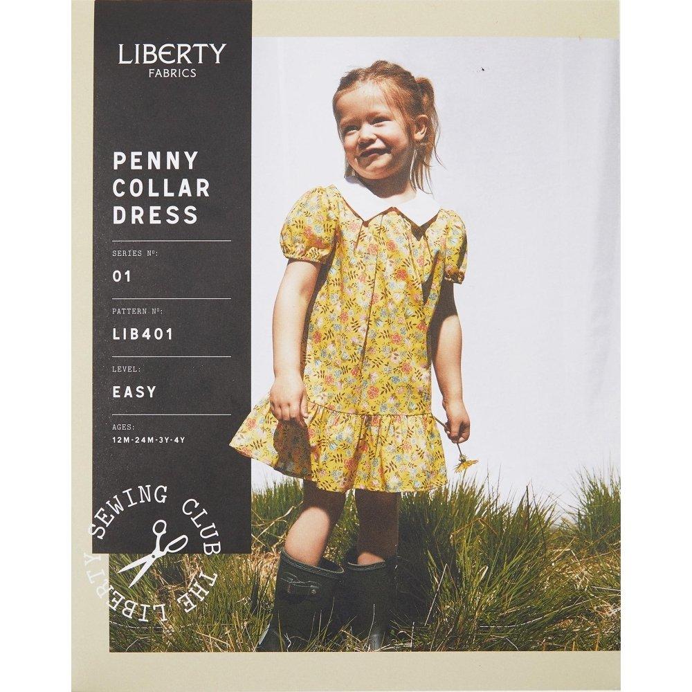 Liberty Fabrics - Penny Collar Dress