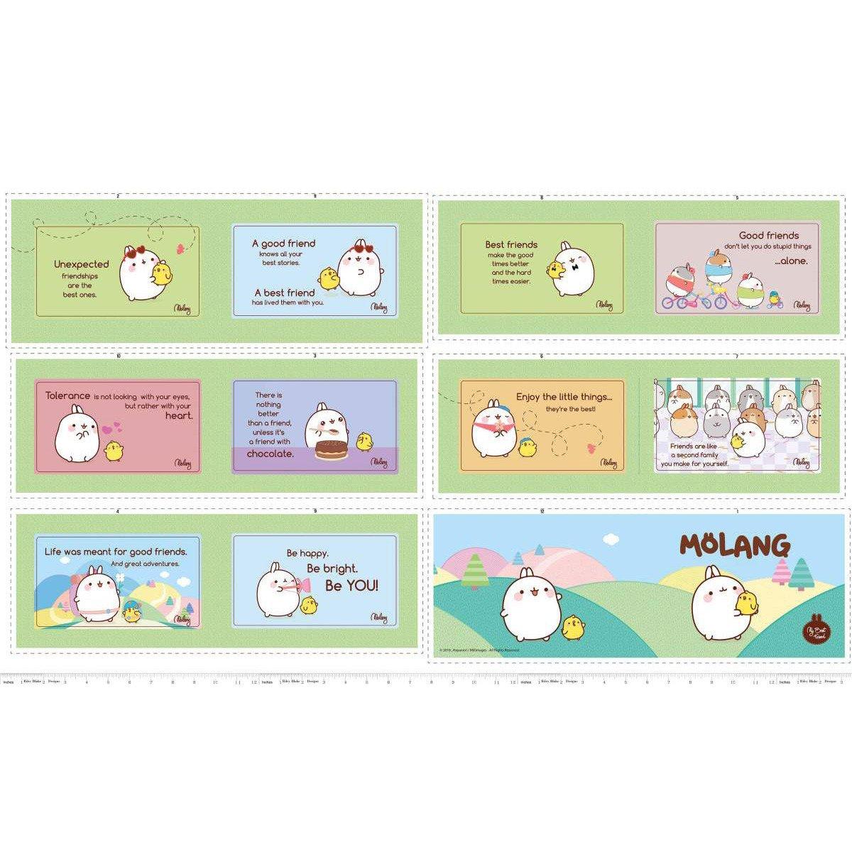 Molang - Soft Book Panel