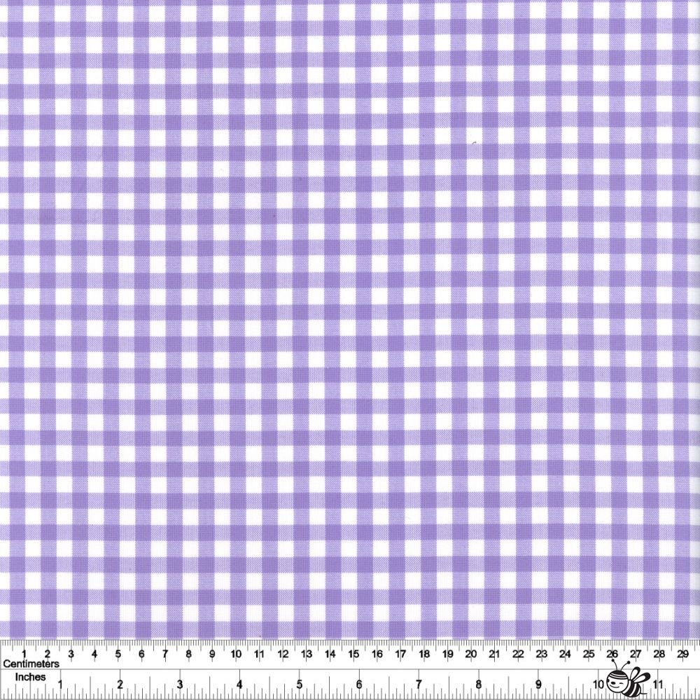 Carolina Gingham 1/4 - Lavender