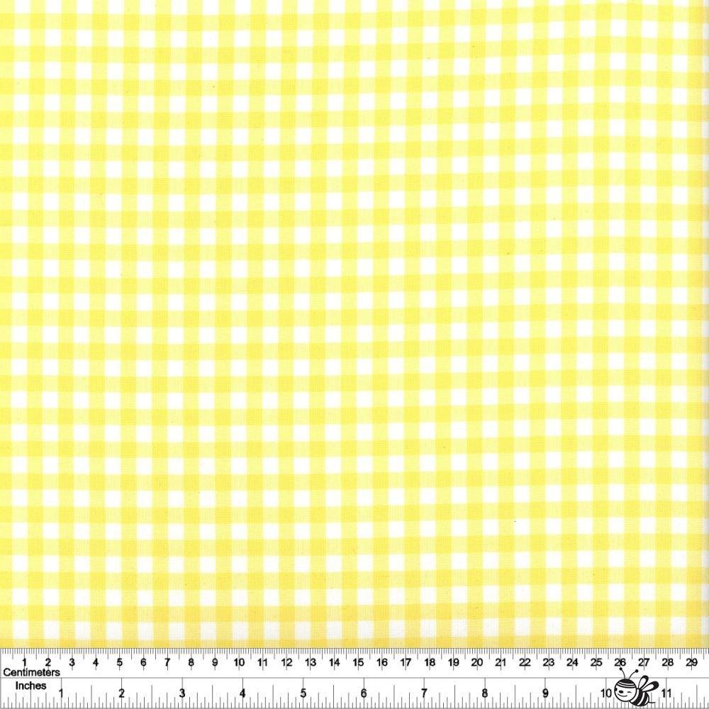 Carolina Gingham 1/4 - Yellow