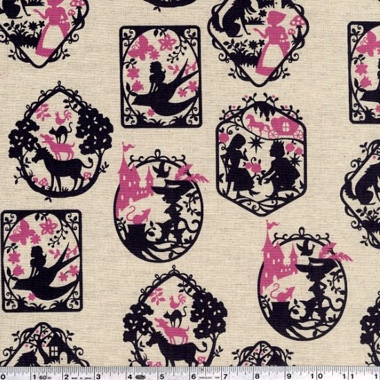 Tréfle - Fairy Tale Frames - Charcoal & Pink