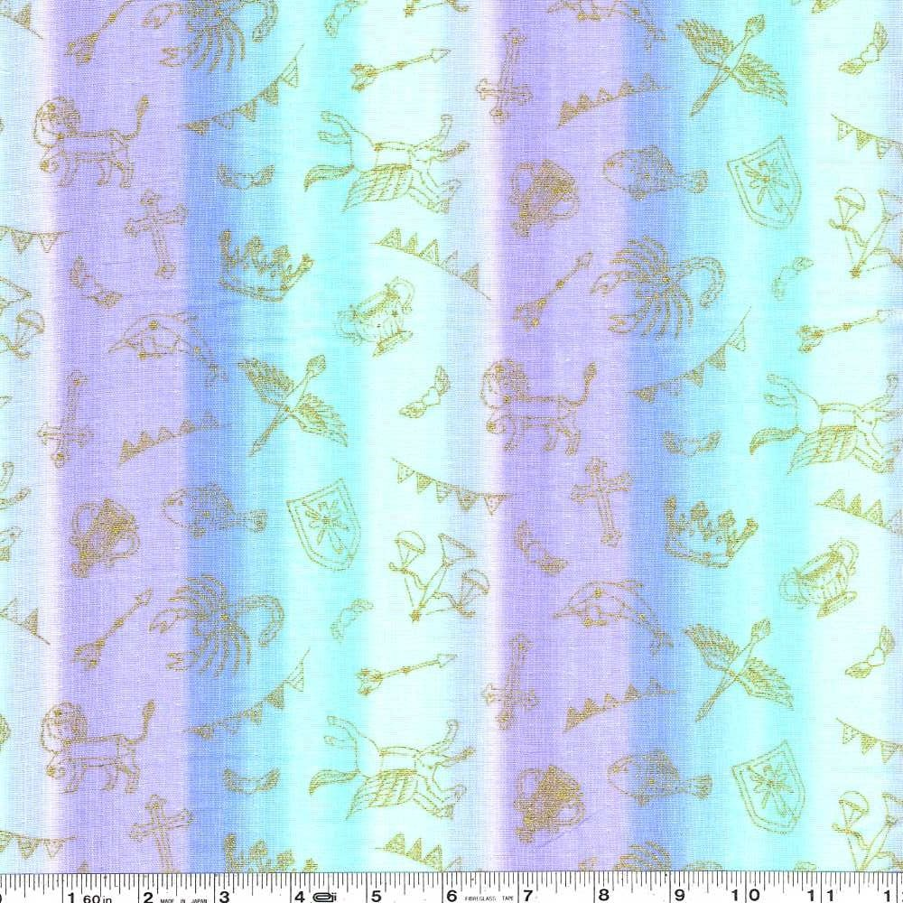 Constellation Stripe Double Gauze - Pastels