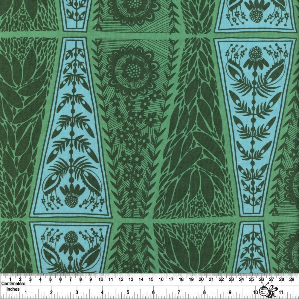Conservatory: Triple Take - Dresden Lace - Grass