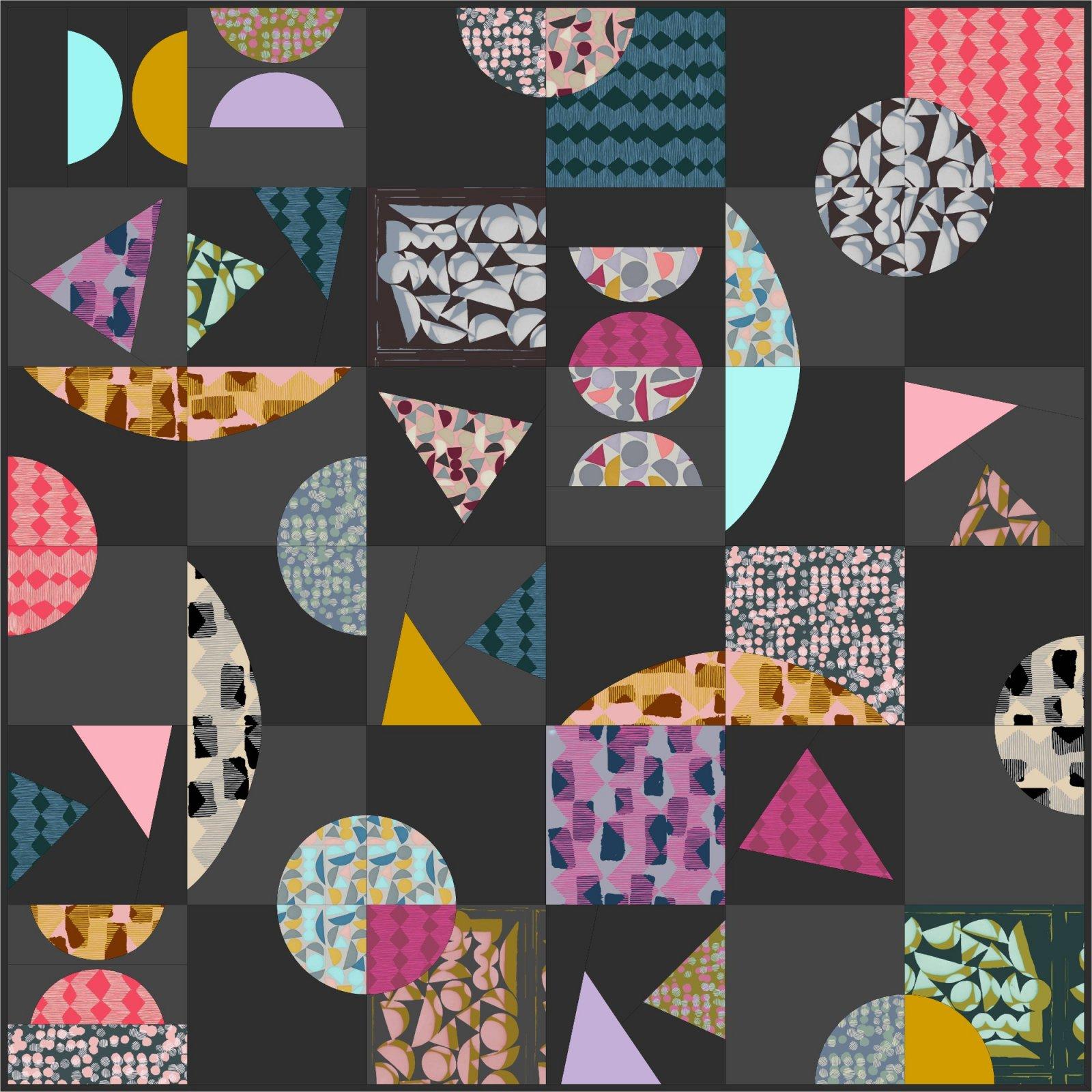 Conservatory: Vestige Quilt Pattern PDF