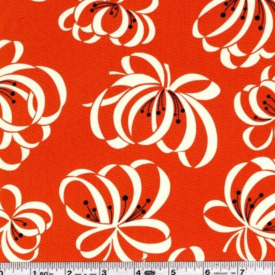 Katie Jump Rope - Ribbon Floral - Orange