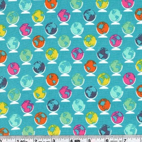 Noteworthy - Globetrotter - Sea Blue