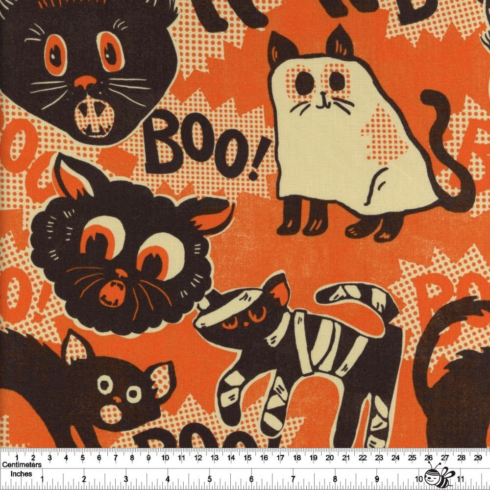 Spooktacular - Scaredy Cat - Orange