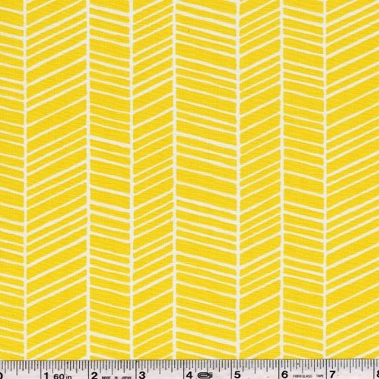 True Colors by Joel Dewberry - Herringbone - Yellow