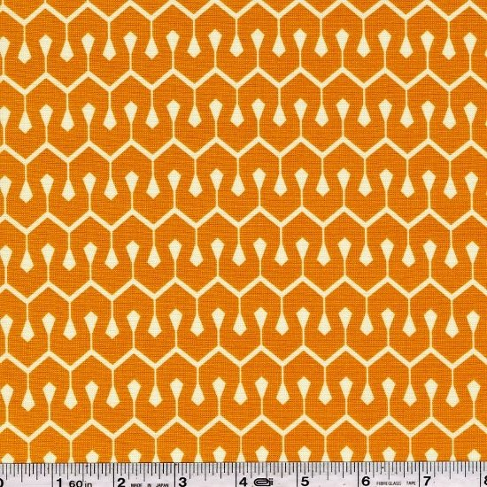 True Colors by Heather Bailey - New Wave - Tangerine