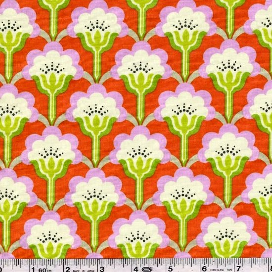 True Colors by Heather Bailey - Pop Blossom - Persimmon