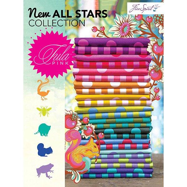 FQ - Tula Pink All Stars - Tent Stripes & Pom Poms