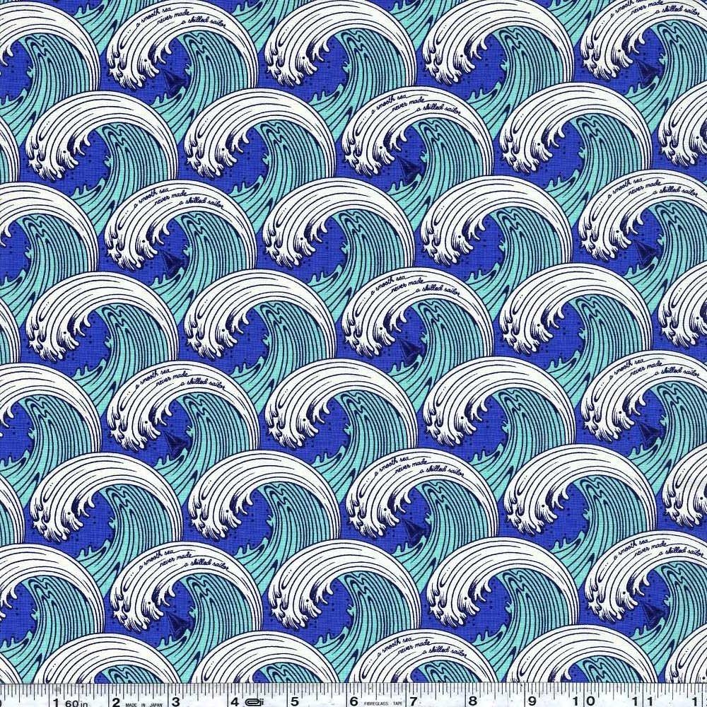 Zuma - White Caps - Aquamarine