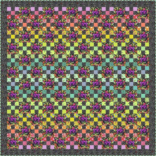 Quilt Kit - Tula Pink's Daisy Chain