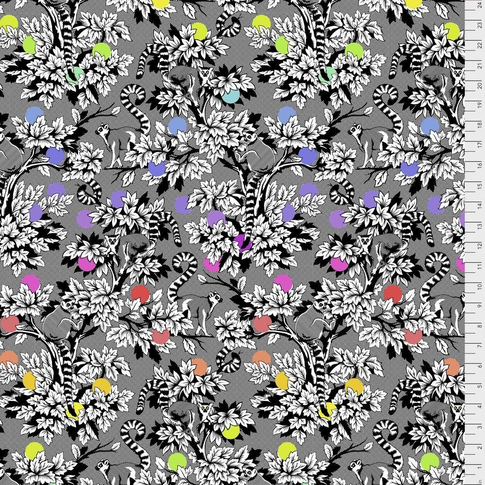 Linework - Lemur Me Alone - Ink