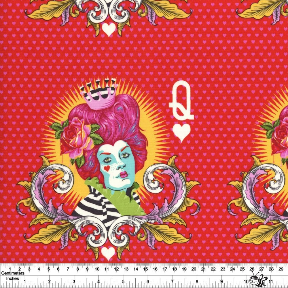 Curiouser and Curiouser - The Red Queen Panel - Wonder