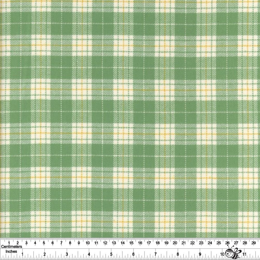 Primo Plaid Yarn Dyed Flannel - Tartan - Green