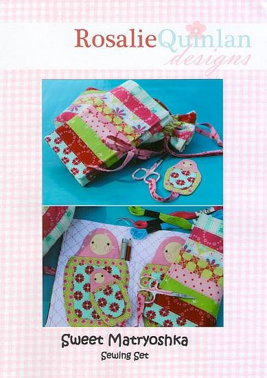 Rosalie Quinlan Designs - Sweet Matryoshka Sewing Set
