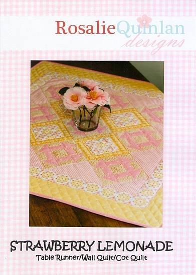 Rosalie Quinlan Designs - Strawberry Lemonade Quilt