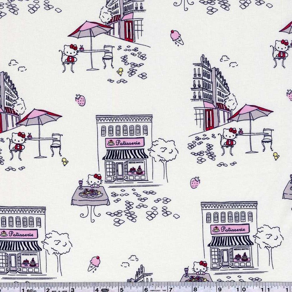 Hello Kitty - Paris Patisserie - White