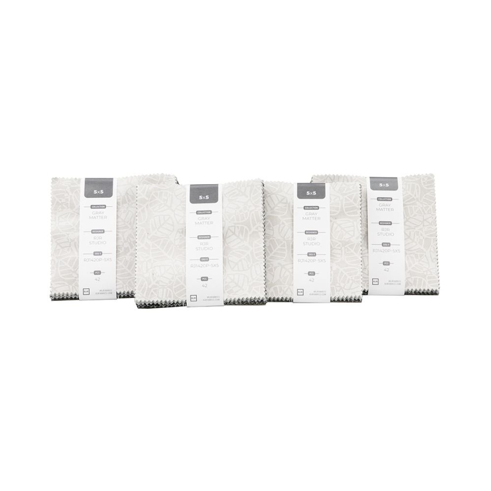 Charm Pack - Gray Matter