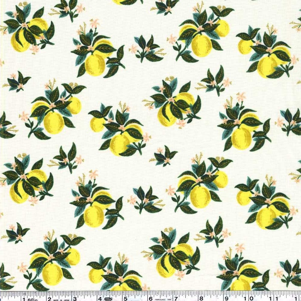 Primavera - Citrus Blossom - Lemon Metallic