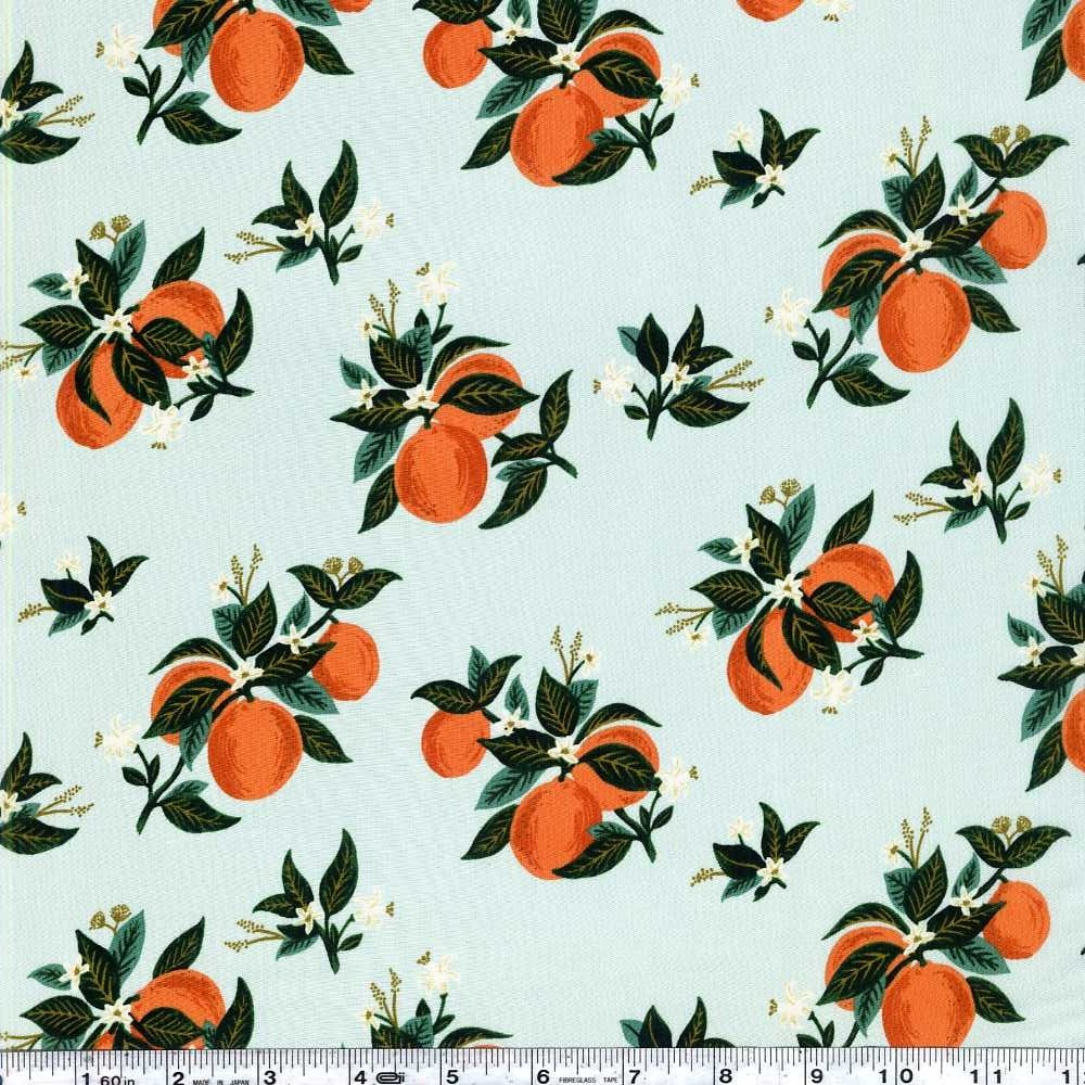 Primavera - Citrus Blossom Rayon - Orange