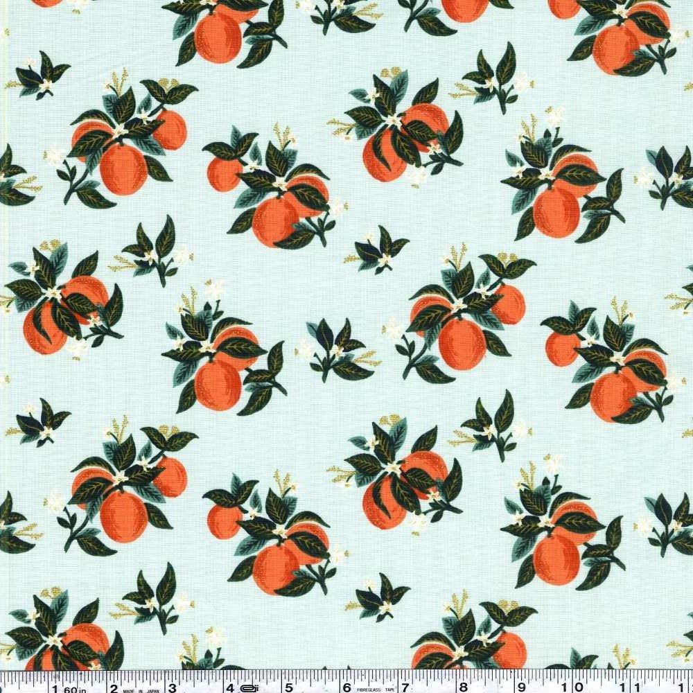 Primavera - Citrus Blossom - Orange Metallic