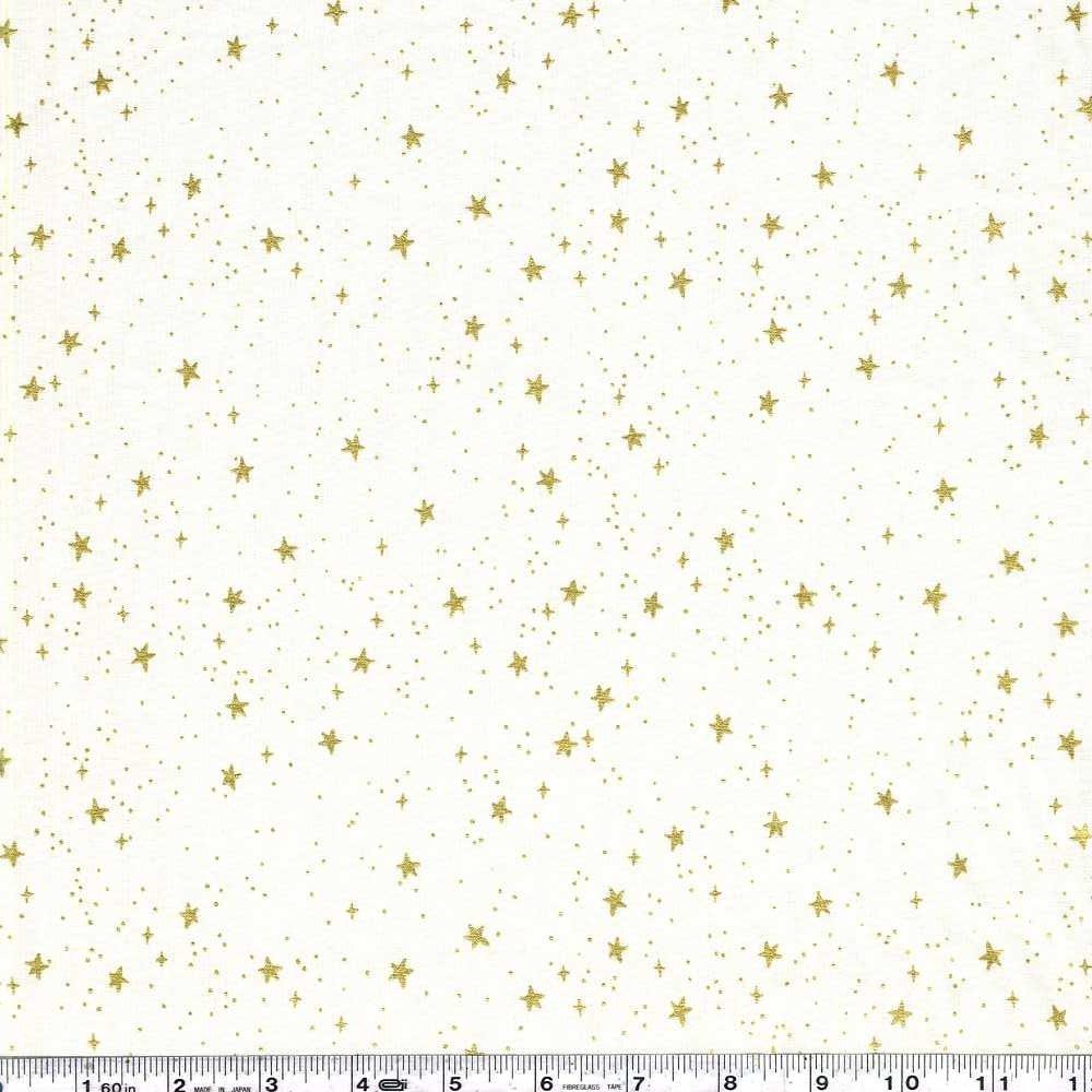 Primavera - Stars - Cream Metallic