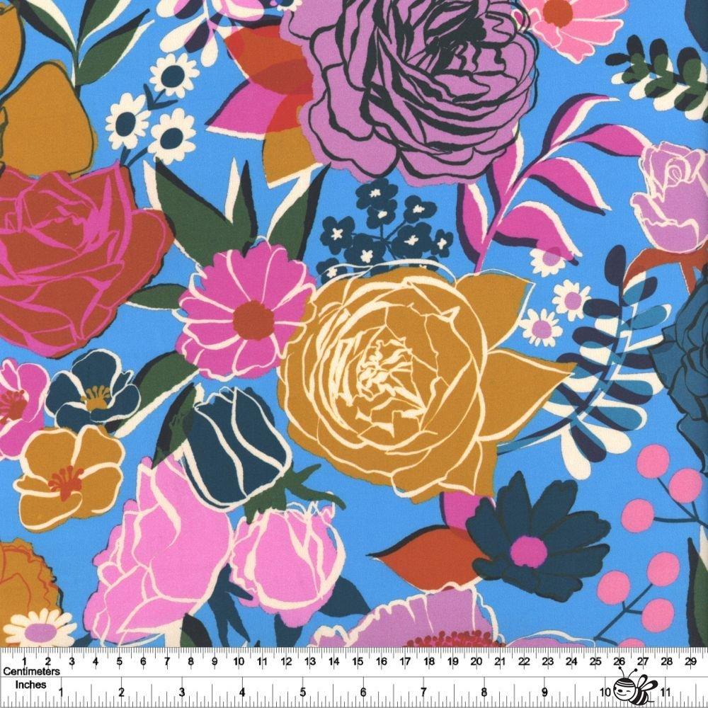 Rise - Bloom Wideback - Bright Blue