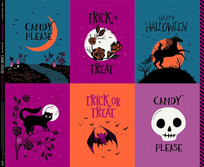 Candy Please - Candy Sacks Panel