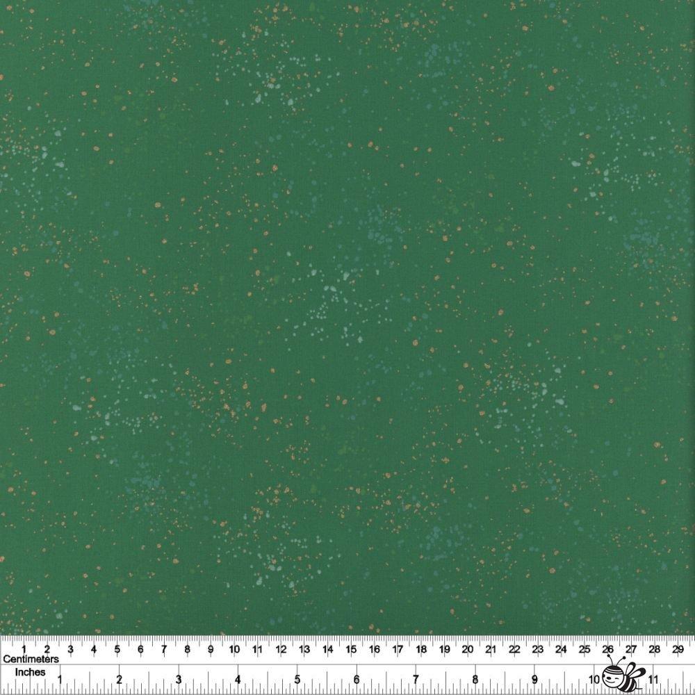 Ruby Star Society - Speckled Metallic - Emerald Green