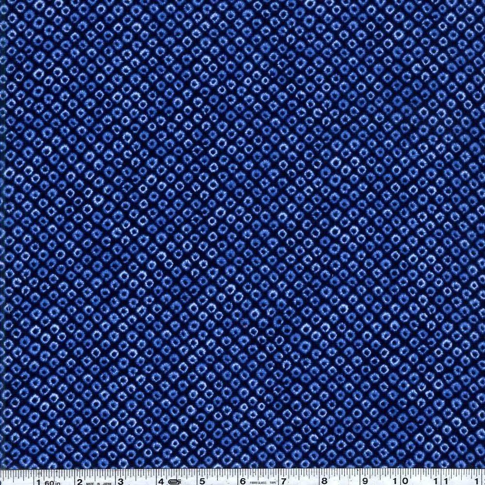 Shibori Blues - Kanoko - Navy