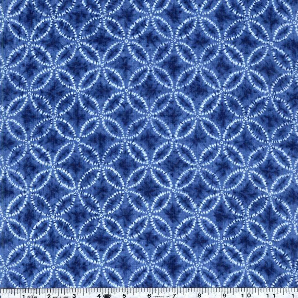 Shibori Blues - Shippo - Blue
