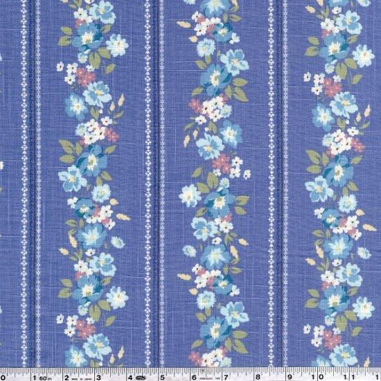Emico - Flower Stripe - Periwinkle Blue