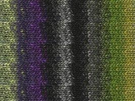 Silk Garden - Black/Grey/Green/Purple - 319