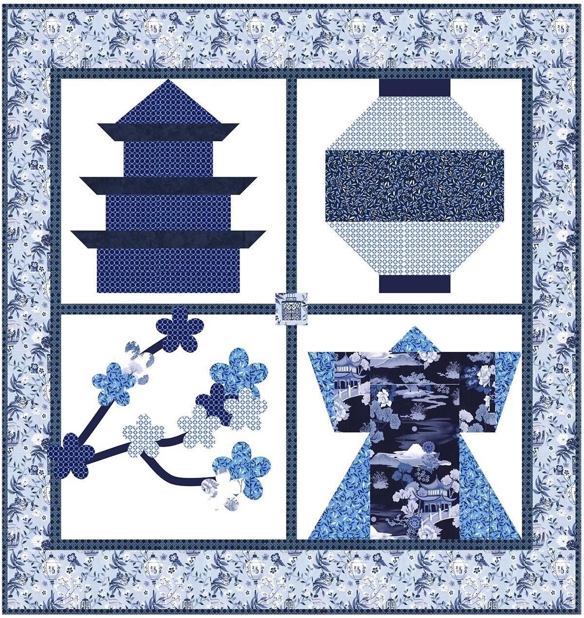 Snapshots of Japan - PDF Pattern