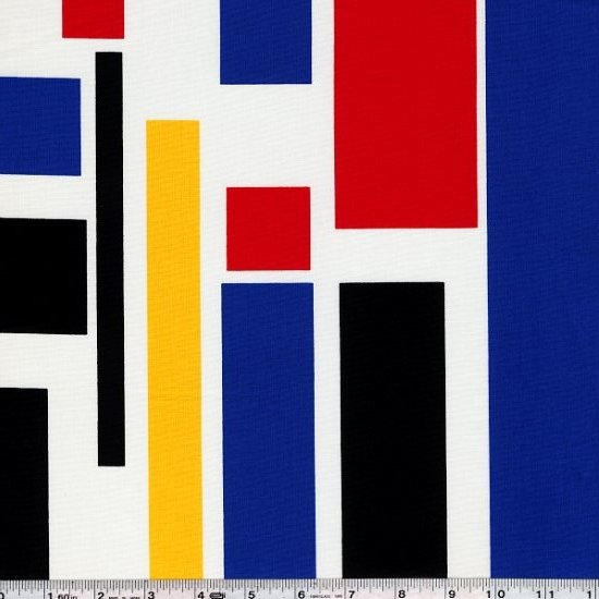 Color Composition - Gridlock - Primary
