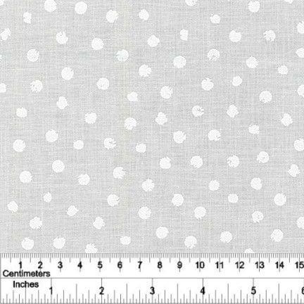 Mini Madness - Spots - White on White