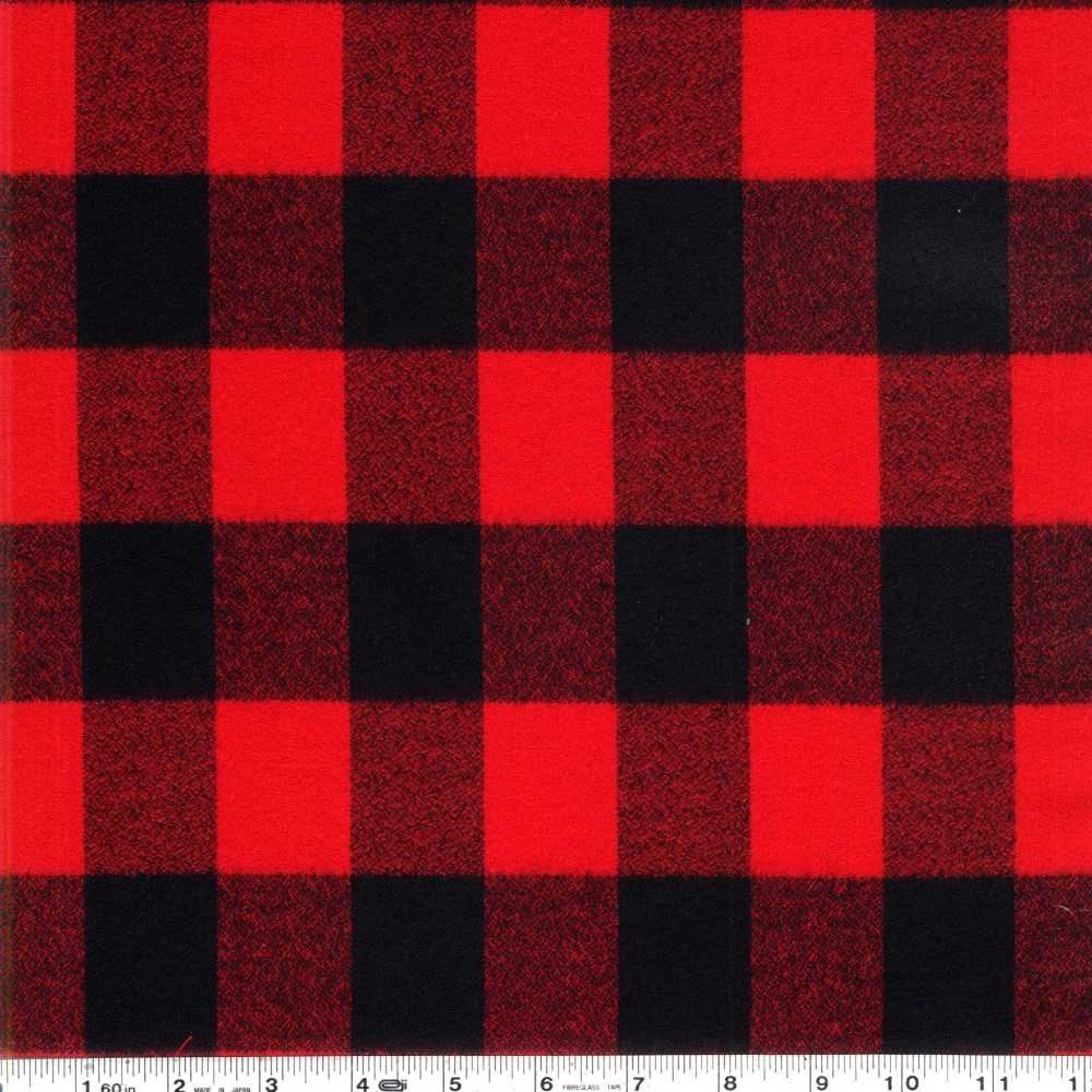Mammoth Flannel - Buffalo Plaid - Red