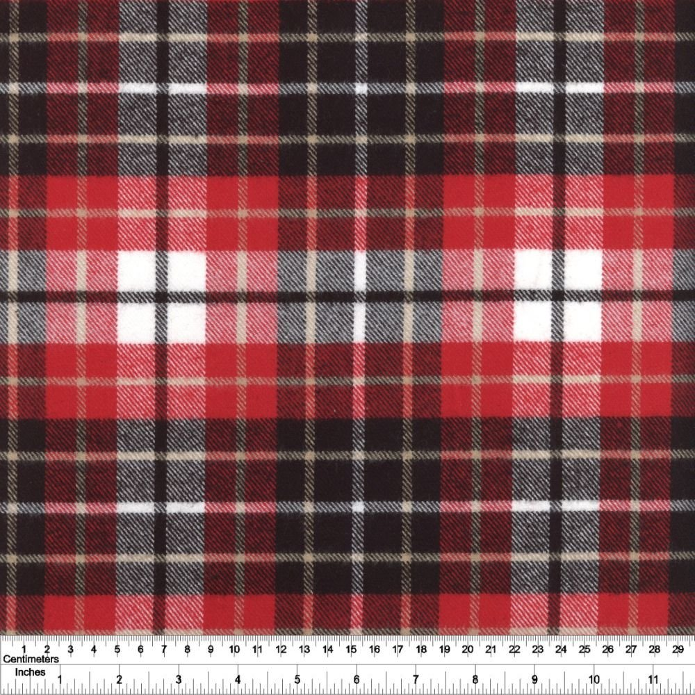 Tahoe Flannel - Plaid - Red