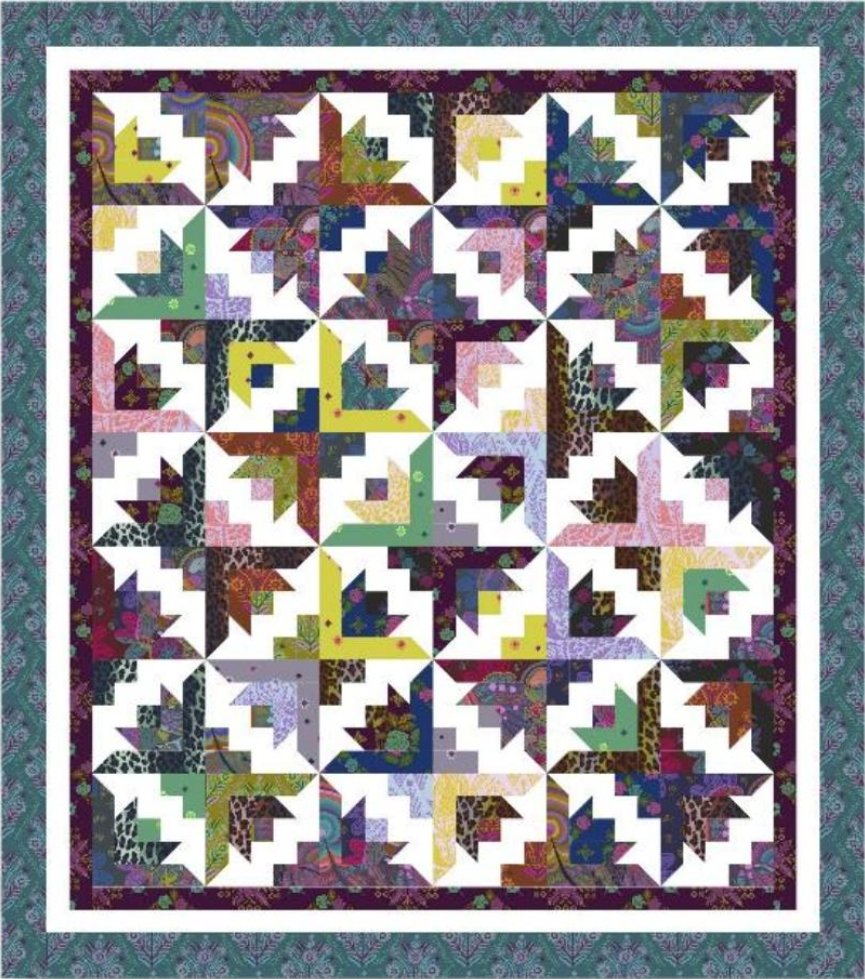 Cozy Quilt Designs - Butterfly Blooms