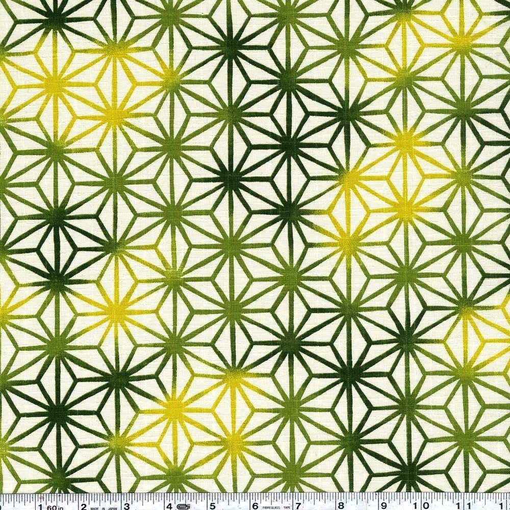 Asanoha Ombre - Green