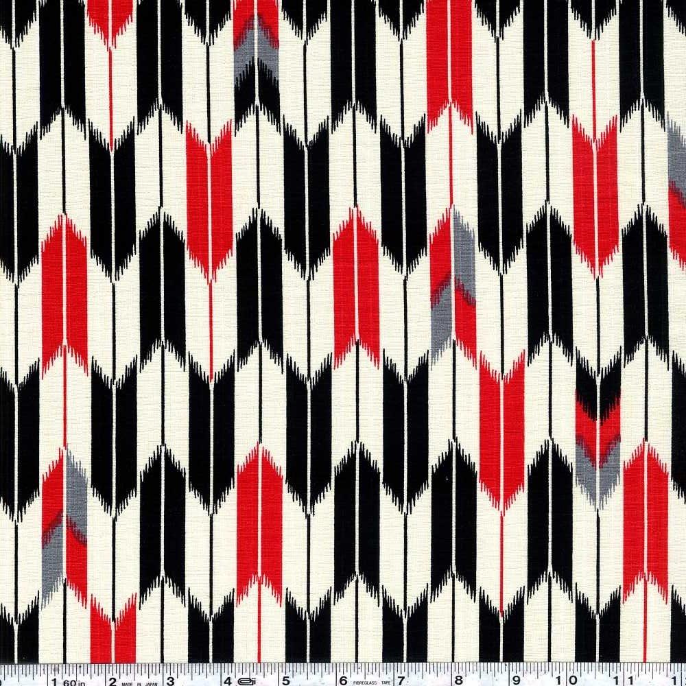Yagasuri - Red & Black