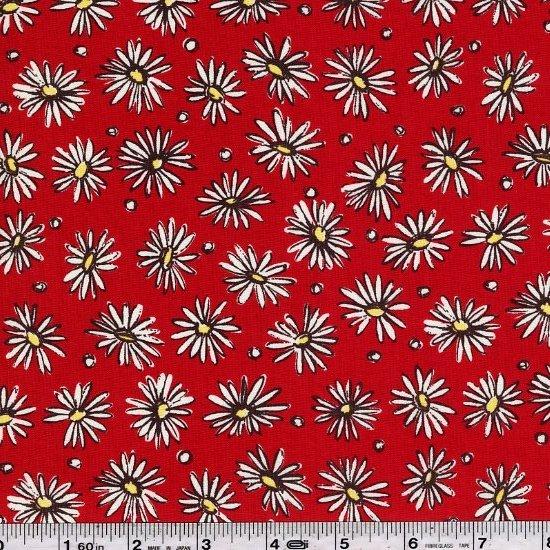 Suzuko Koseki - Scattered Daisies - Red